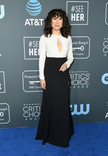 sandra oh in prabal gurung-2