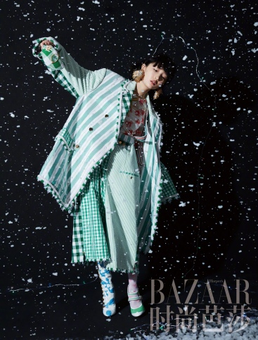 zhou dongyu for harper's bazaar china february 2019-2