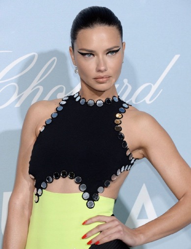 Adriana Lima in David Koma Spring 2019-1
