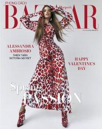Alessandra Ambrosio for Harper's Bazaar Vietnam February 2019 Cover B