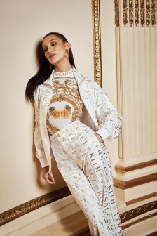 Bella Hadid for Kith x Versace Campaign 2019-14