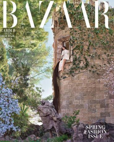 Cardi B Harper's Bazaar US March 2019 Cover B