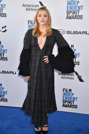 Chloe Grace Moretz in Loewe