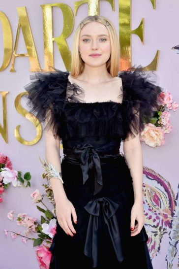 Dakota Fanning in Rodarte Spring 2019-2