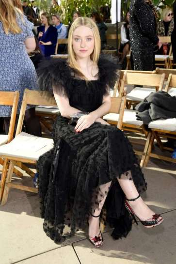 Dakota Fanning in Rodarte Spring 2019-5