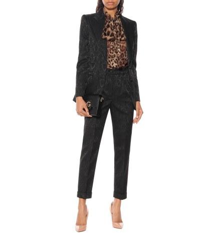Dolce & Gabbana Satin jacquard blazer