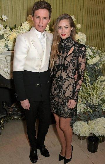 Eddie Redmayne in Alexander McQueen Spring 2019 Menswear-1