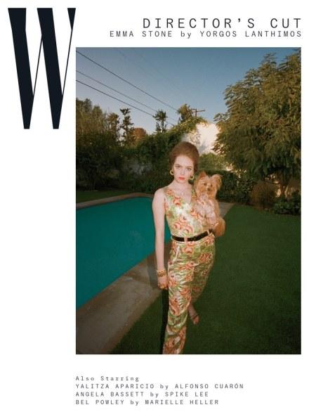 Emma Stone for W Magazine February 2019-2