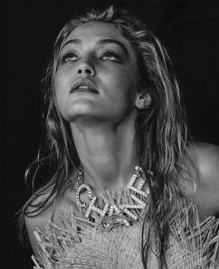 Gigi Hadid for ELLE US March 2019-11