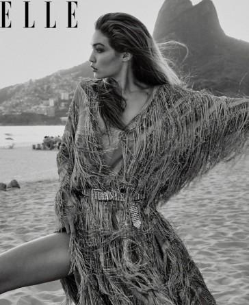 Gigi Hadid for ELLE US March 2019-13