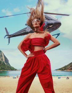 Gigi Hadid for ELLE US March 2019-7