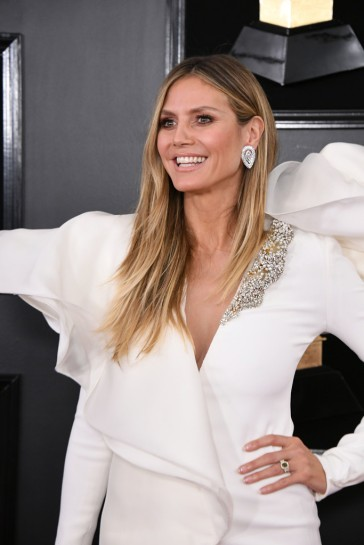 Heidi Klum in Stephane Rolland Spring 2018 Couture-2