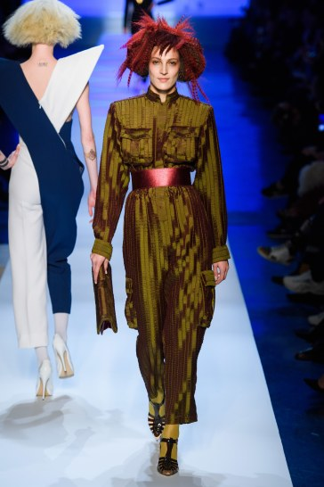 Jean Paul Gaultier Spring 2019 Couture Look 12