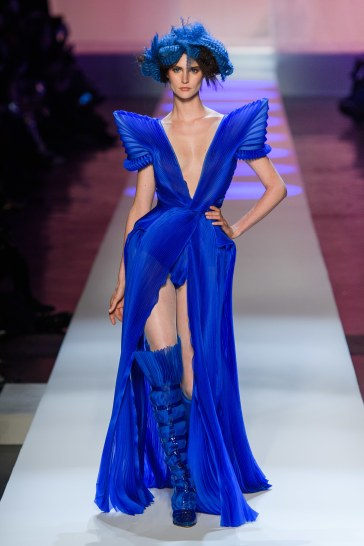 Jean Paul Gaultier Spring 2019 Couture Look 52