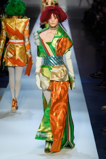 Jean Paul Gaultier Spring 2019 Couture Look 60