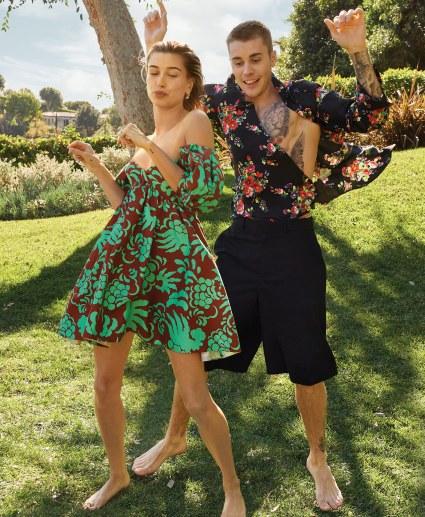 Justin Bieber & Hailey Baldwin X Vogue US March 2019-3