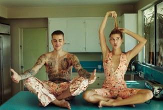Justin Bieber & Hailey Baldwin X Vogue US March 2019-5