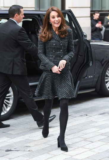 Catherine Duchess of Cambridge Arrives at Mercers Hall