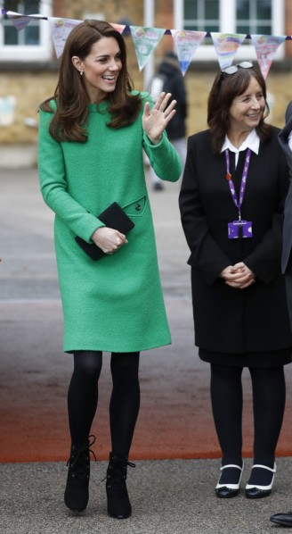 Kate Middleton in Eponine London Spring 2018-2