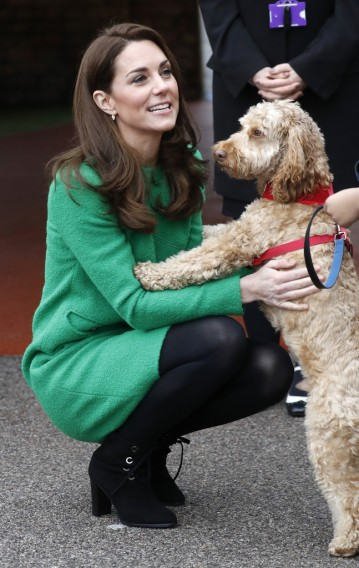 Kate Middleton in Eponine London Spring 2018-5