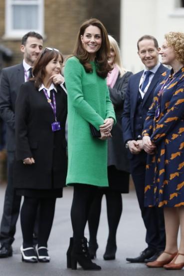 Kate Middleton in Eponine London Spring 2018-7