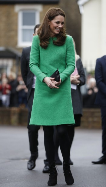 Kate Middleton in Eponine London Spring 2018-8