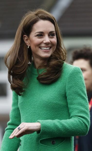 Kate Middleton in Eponine London Spring 2018-9