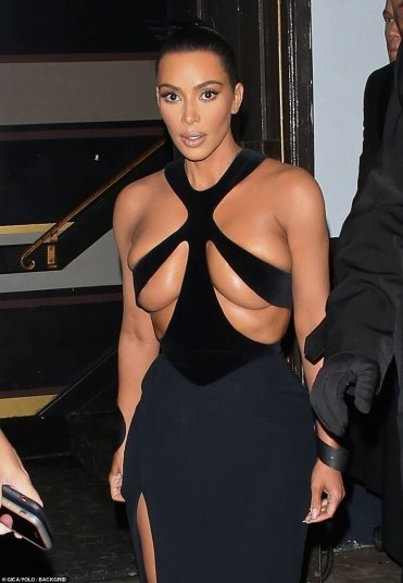 Kim Kardashian in Mugler Fall 1998-2
