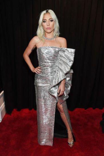 Lady Gaga in Celine Spring 2019-1