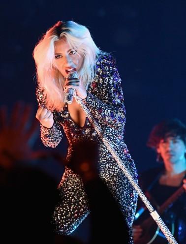 Lady Gaga in Perry Meek-1