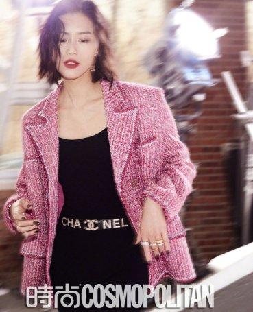 Liu Wen for Cosmopolitan China March 2019-2