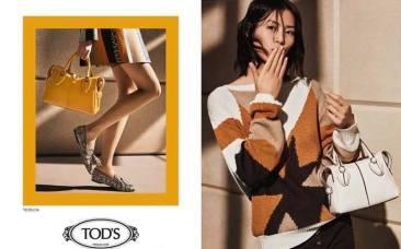Liu Wen & Vittoria Ceretti for Tod's Spring 2019 Campaign-6