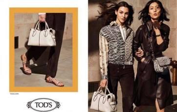 Liu Wen & Vittoria Ceretti for Tod's Spring 2019 Campaign-7