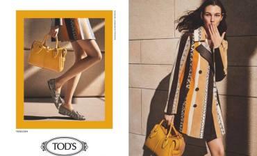 Liu Wen & Vittoria Ceretti for Tod's Spring 2019 Campaign-8