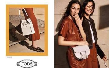Liu Wen & Vittoria Ceretti for Tod's Spring 2019 Campaign-9