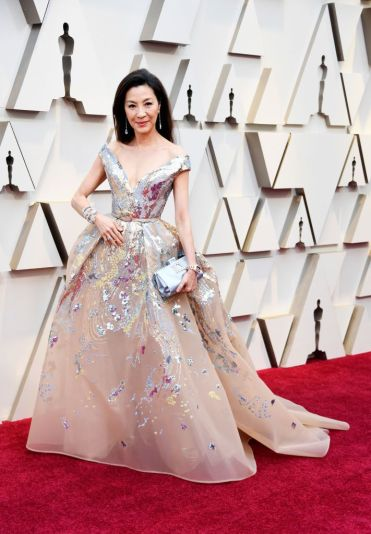 Michelle Yeoh in Elie Saab Spring 2019 Couture