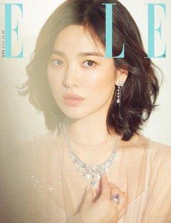 Song Hye-kyo ELLE Korea March 2019 Cover B