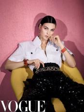 Vittoria Ceretti for Vogue China March 2019-8