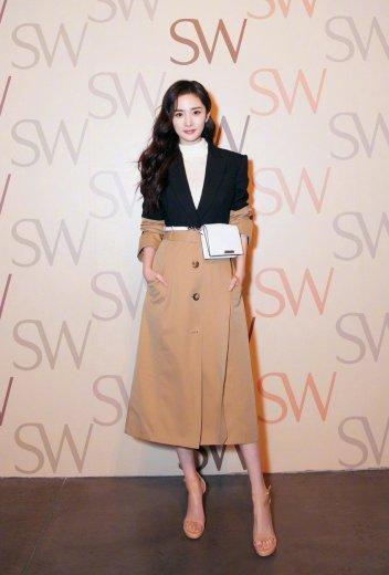 Yang Mi in Alexander McQueen Resort 2019-2