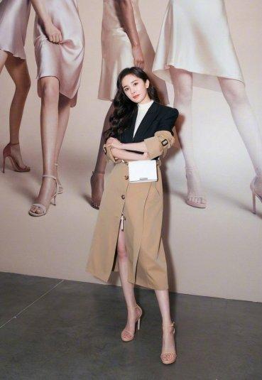 Yang Mi in Alexander McQueen Resort 2019-3
