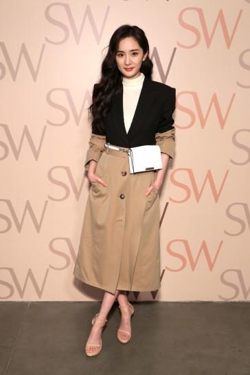 Yang Mi in Alexander McQueen Resort 2019