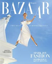 Alicia Vikander for Harper's Bazaar US April 2019 Cover B