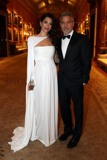 Amal Clooney in Jean-Louis Scherrer by Stephane Rolland Spring 2007 Couture