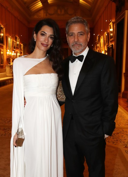 Amal Clooney in Jean-Louis Scherrer by Stephane Rolland Spring 2007 Couture-3