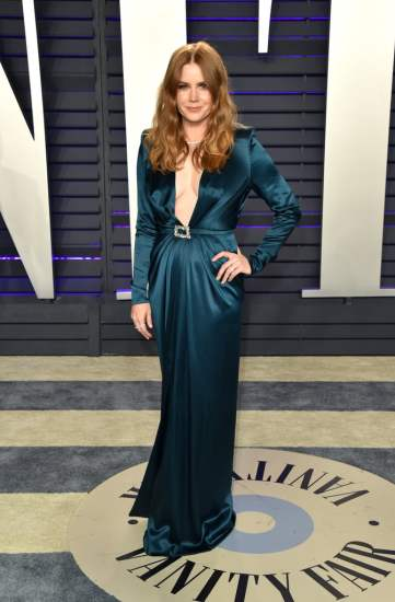 Amy Adams in Alexandre Vauthier Spring 2019 Couture