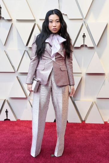 Awkwafina in Dsquared2 Pre-Fall 2019