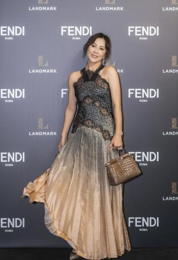 Carina Lau in Fendi Pre-Fall 2019-2