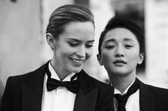 Cate Blanchett Emily Blunt Zhou Xun IWC Schaffhausen 2014 Campaign-5