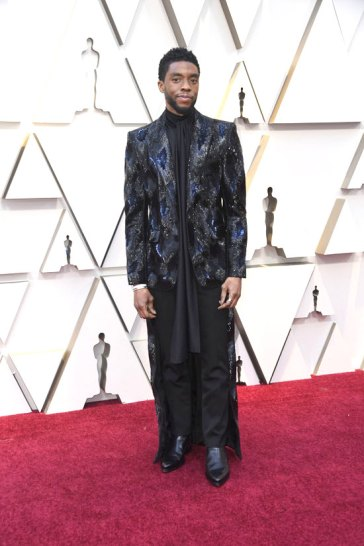Chadwick Boseman in Givenchy Fall 2018 Couture-2