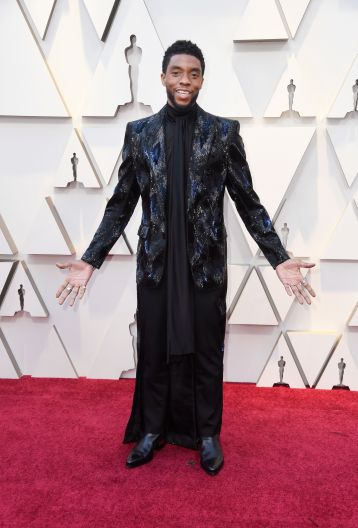 Chadwick Boseman in Givenchy Fall 2018 Couture